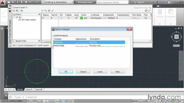 Creating and adjusting layers: AutoCAD 2014 Essentials: 03 Editing and Organizing Drawings