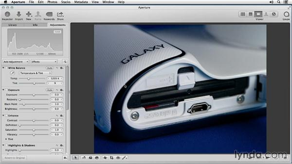 Evaluating image quality before editing: Enhancing Product Photography with Aperture