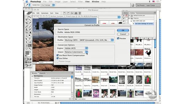 actions: Photoshop CS Prepress Essentials