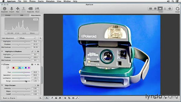Adjusting the background: Enhancing Product Photography with Aperture