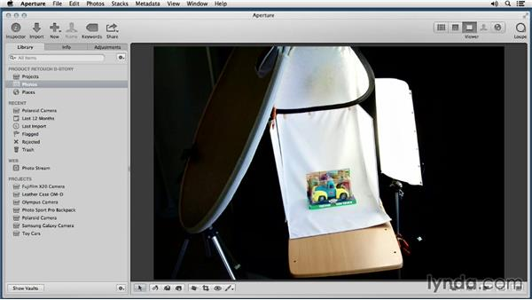 Bonus movie: Enhancing Product Photography with Aperture