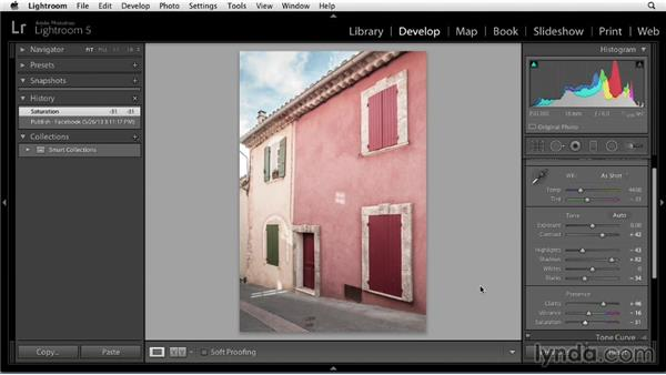 Publishing photos from Lightroom to Facebook: Sharing Photos Online with Lightroom 5