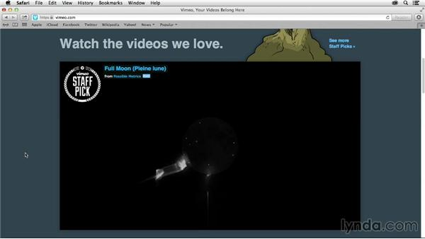 Vimeo as an online home for creative professionals: Vimeo Projects for Creative Professionals