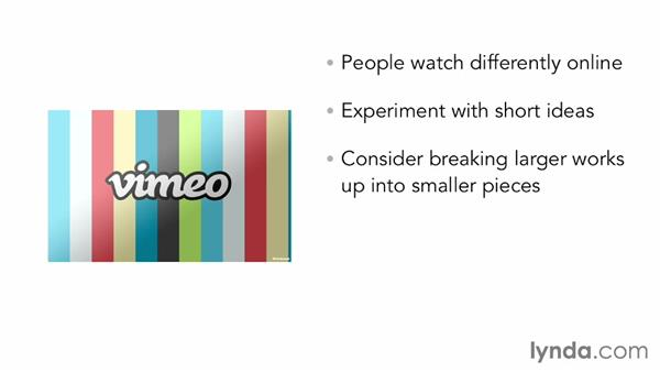 Serializing content: Vimeo Projects for Creative Professionals