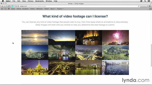 Licensing footage with Getty Images: Vimeo Projects for Creative Professionals