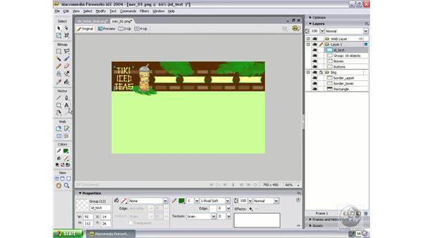 design navigation part 4: Studio MX 2004 Web Workflow