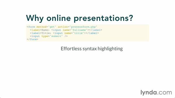 Introducing reveal.js: Online Presentations with reveal.js