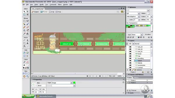 set optimization and behaviors: Studio MX 2004 Web Workflow