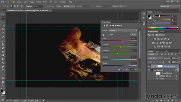 Tips for creating better actions: Up and Running with Photoshop Automation