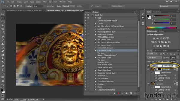 Test and correct: Up and Running with Photoshop Automation