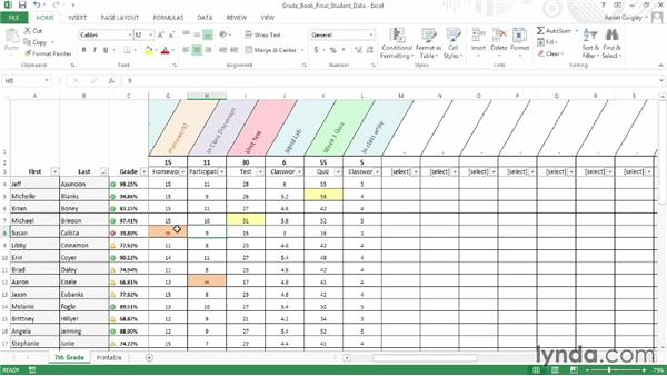Challenge: Write a conditional format: Office for Educators