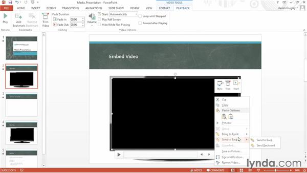 Adding and configuring media: Office for Educators
