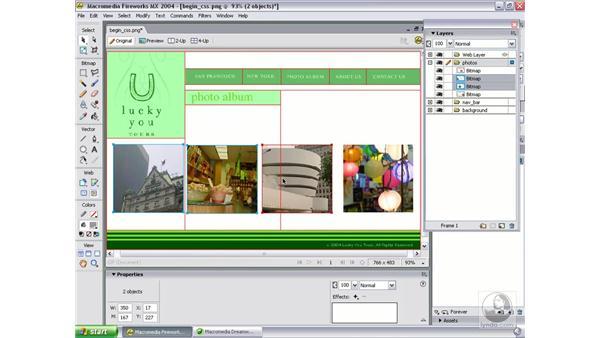 create new design: Studio MX 2004 Web Workflow