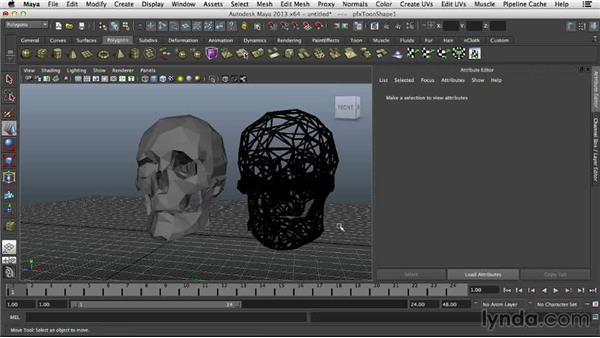 Finishing the wireframe: 3D Printing on Shapeways Using Maya