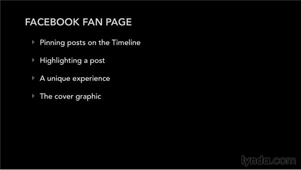 Your Facebook fan page: Facebook for Musicians and Bands
