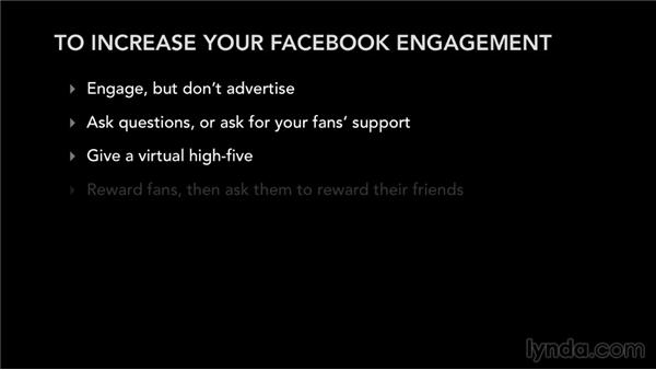 Ways to increase your Facebook engagement: Facebook for Musicians and Bands