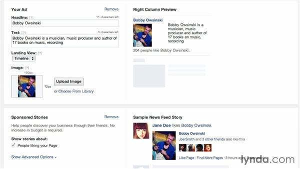 Using Facebook Ads: Facebook for Musicians and Bands