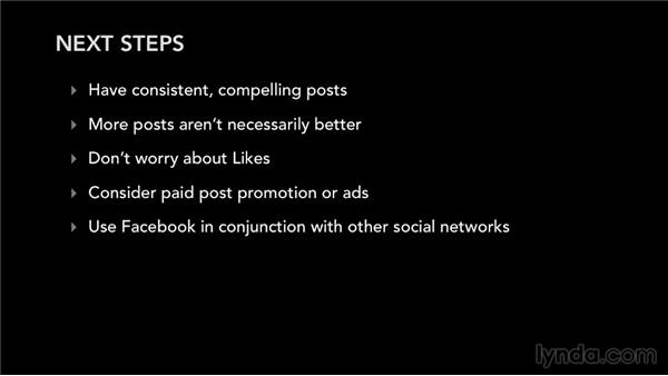 Next steps: Facebook for Musicians and Bands