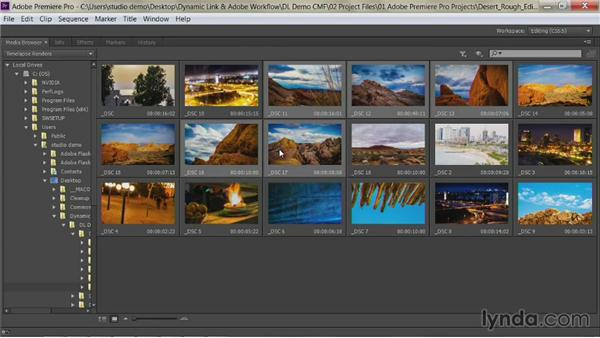 Creating a new Premiere Pro sequence: Premiere Pro Guru: Dynamic Link and the Adobe Workflow