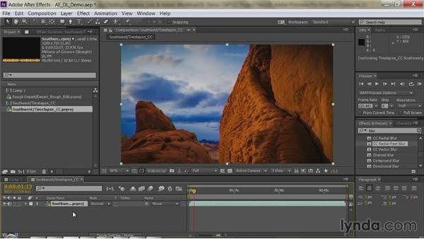 Importing a Premiere Pro sequence: Premiere Pro Guru: Dynamic Link and the Adobe Workflow