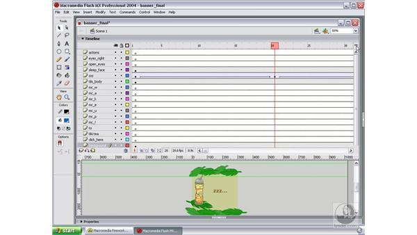 review movie in Flash: Studio MX 2004 Web Workflow