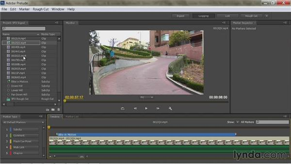 Sending clips and metadata from Prelude to Premiere Pro: Premiere Pro Guru: Dynamic Link and the Adobe Workflow