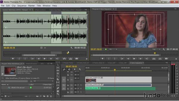 Creating subclips: Premiere Pro Guru: Dynamic Link and the Adobe Workflow