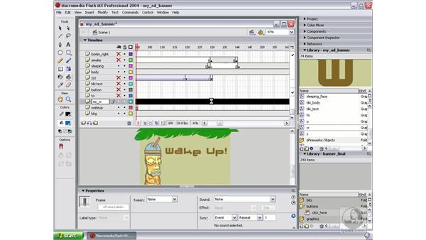 create movie clip part 1: Studio MX 2004 Web Workflow
