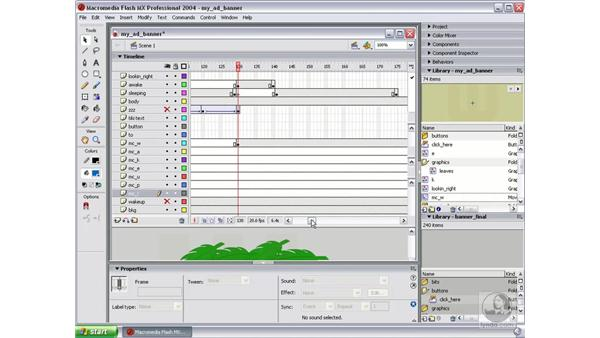 create movie clip part 2: Studio MX 2004 Web Workflow