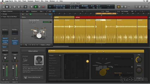 Going deeper into the Drummer Editor: New Ways to Create Music with Logic Pro X