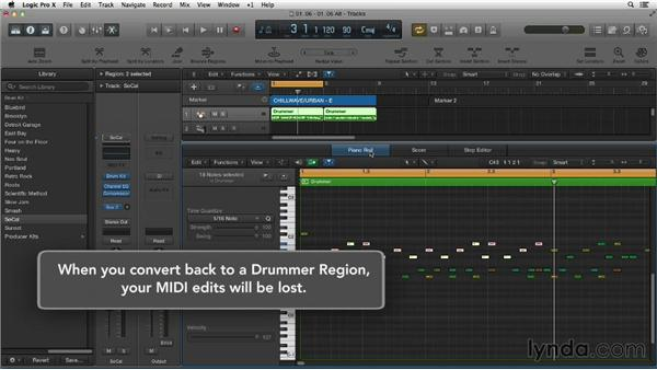 Making electronic beats with Drummer and Ultrabeat: New Ways to Create Music with Logic Pro X