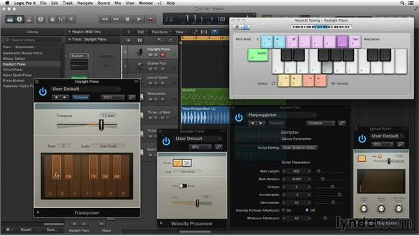 Creating with Scripter and other MIDI plugins: New Ways to Create Music with Logic Pro X