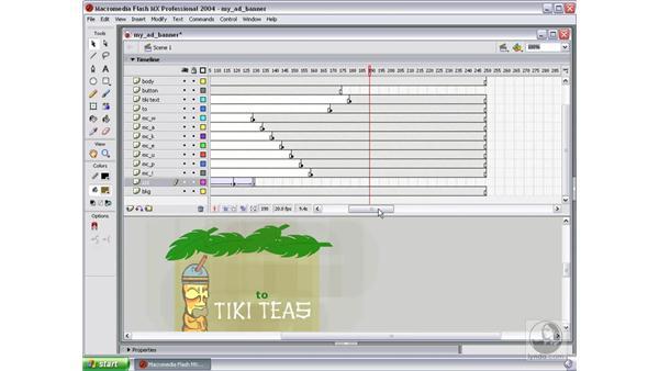 animate talk text: Studio MX 2004 Web Workflow