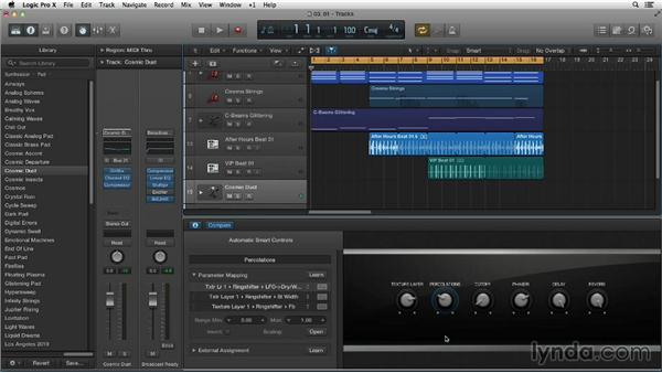 Working with Smart Controls: New Ways to Create Music with Logic Pro X