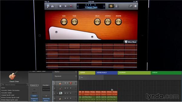 Using the Logic Remote Guitar Touch Instruments and Smart Controls: New Ways to Create Music with Logic Pro X