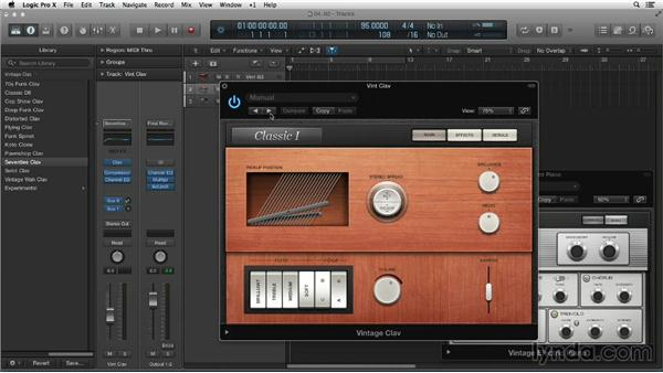 Exploring the redesigned Vintage series: New Ways to Create Music with Logic Pro X