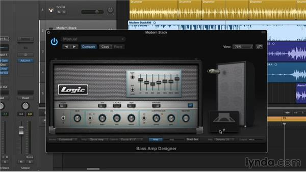 Rocking Bass Amp Designer and the new stompboxes: New Ways to Create Music with Logic Pro X