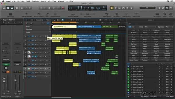 Exploring the brand-new Apple Loops content: New Ways to Create Music with Logic Pro X
