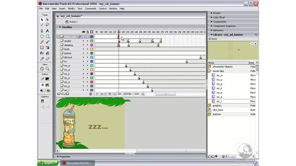 animate facial expressions part 2: Studio MX 2004 Web Workflow
