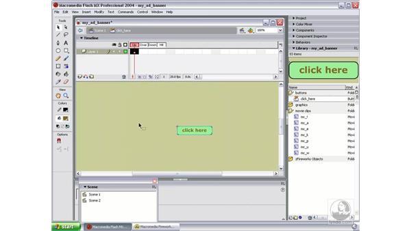 fix button: Studio MX 2004 Web Workflow