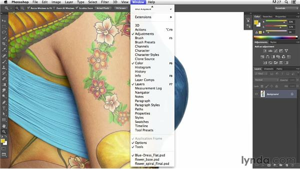 Using a Fibonacci spiral to create a tattoo: Pixel Playground