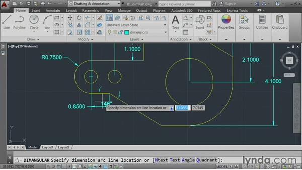 Welcome: AutoCAD 2014 Essentials: 04 Annotating a Drawing