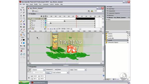 create button symbol in Flash: Studio MX 2004 Web Workflow