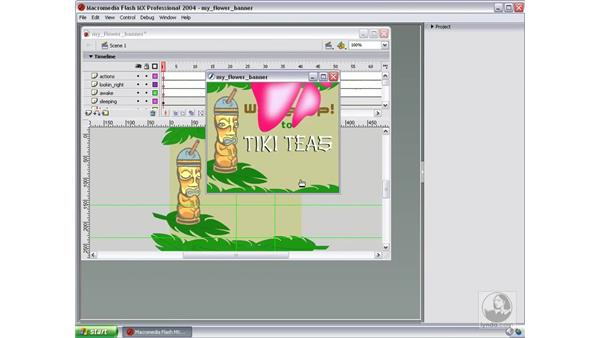 add sound to button in Flash: Studio MX 2004 Web Workflow
