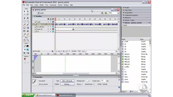 introduce exercise: Studio MX 2004 Web Workflow