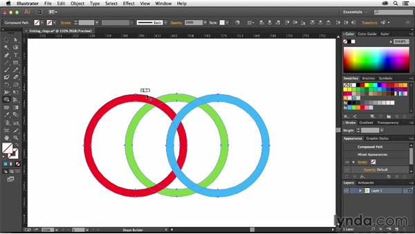 How to create interlocking shapes in Illustrator: Creative Quick Tips