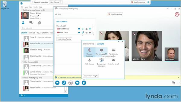Using presenter controls: Up and Running with Lync Online