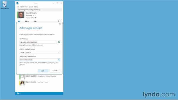 Connecting Lync users with Skype users: Up and Running with Lync Online