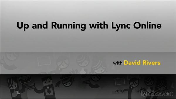 Next steps: Up and Running with Lync Online