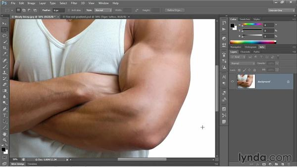 Three ways to place a Smart Object: Photoshop CC 2013 One-on-One: Advanced